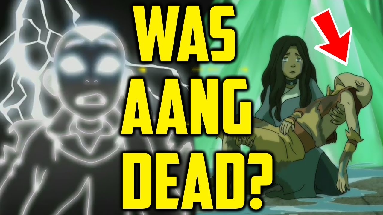 Download Was Aang ÐEẠÐ when Azula shot him with lightning? Avatar: The Last Airbender Explained