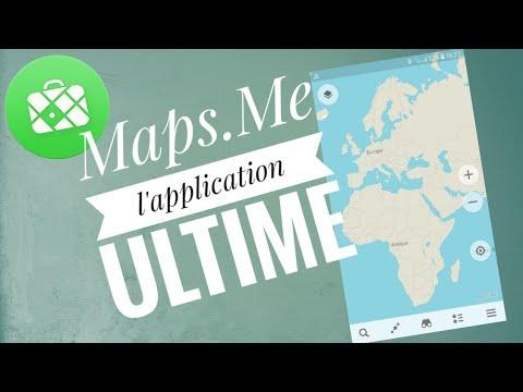 Maps Me - L'application ultime de GPS