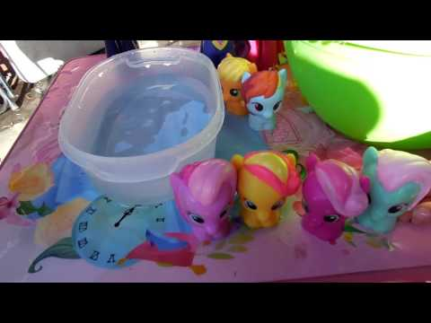 My Little Pony Pool Party- Splash Competition!!
