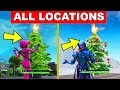 Dance in Front of different Holiday Trees! – ALL LOCATIONS (14 DAYS OF FORTNITE CHALLENGES)