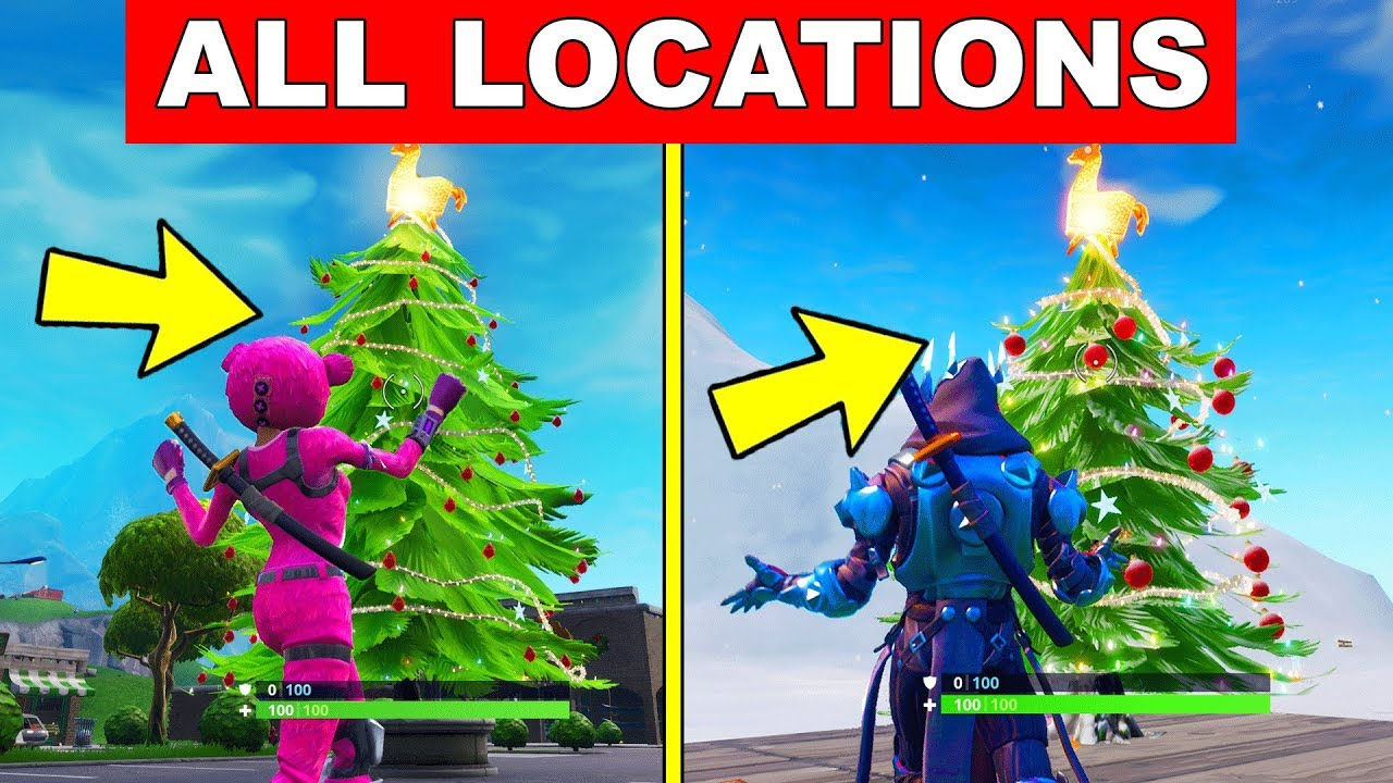Dance In Front Of Different Holiday Trees All Locations 14 Days