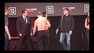 Nick Diaz At Bellator Weigh To Support The Florida Boy  EsNews Boxing
