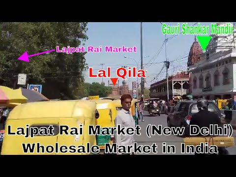 Lajpat Rai Market! L P Mkt! Best Wholesale Electronic Market in India!