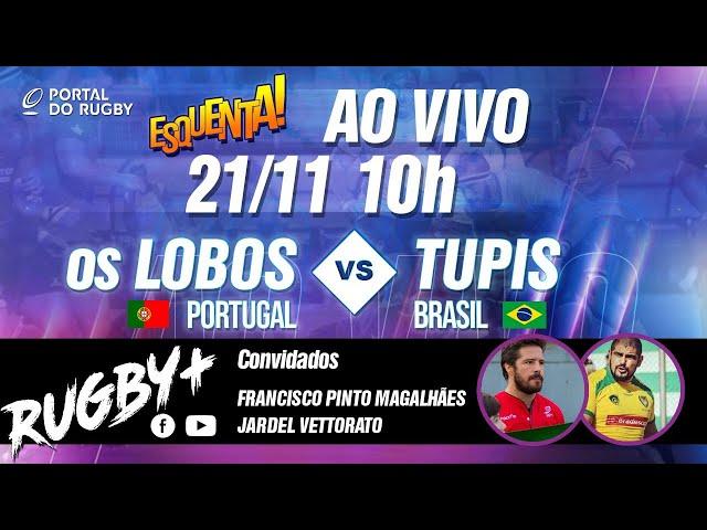 Rugby+ com Jardel Vettorato e Francisco P. Magalhães, lendas de Tupis e Lobos!