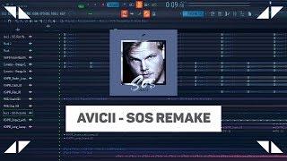 Avicii - SOS ft. Aloe Blacc | Remake | Flp + Presets + Acapella ◢ ◤ Video