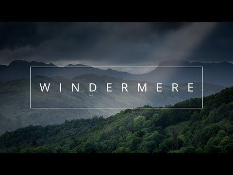Landscape Photography - Bracketed Exposure | Panorama at Windermere in the Lake District