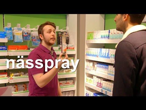 Tiếng Thụy Điển bài 22: Tại nhà thuốc