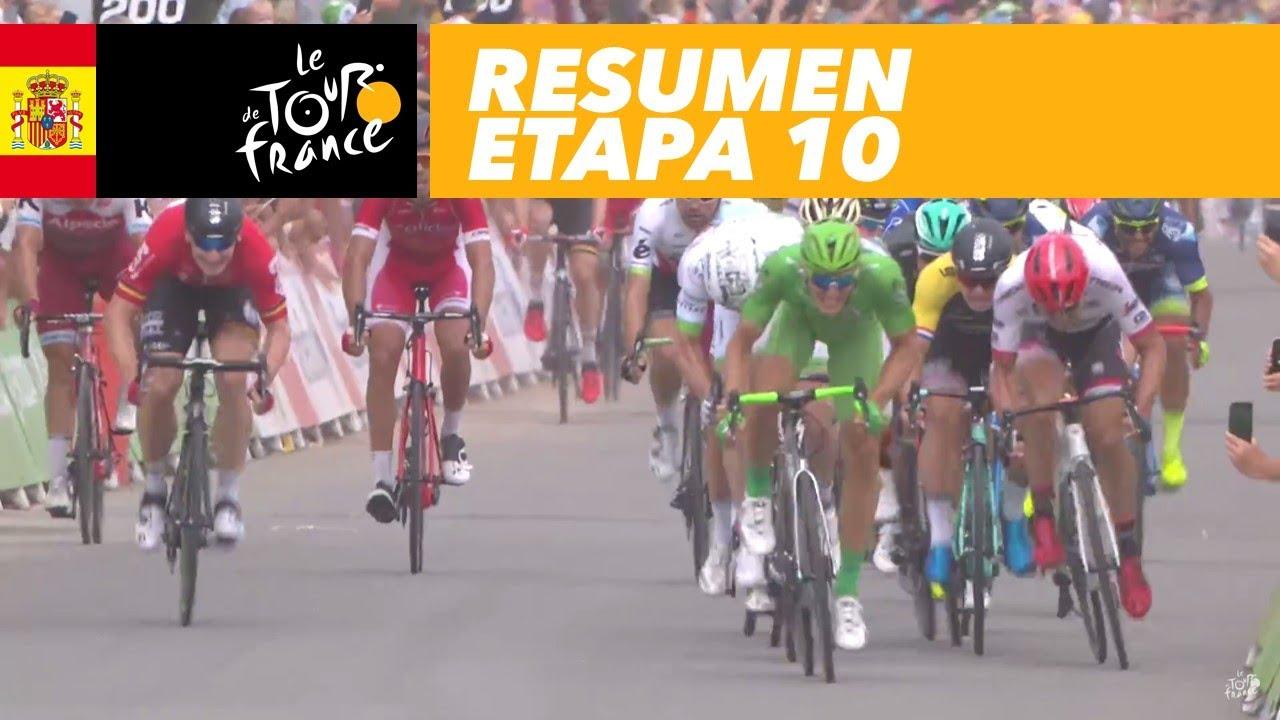 Resumen Etapa 10 Tour De France 2017 Youtube