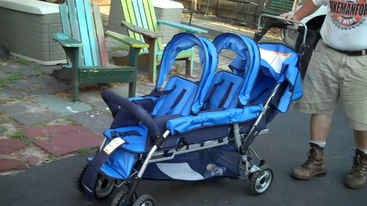 BMFU has TRIPLETS Over Fixing a Foundation Multi-Child STROLLER ...