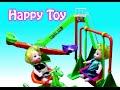 Mainan Anak Boneka Ayunan - Kuda kudaan kayu - Seluncuran - Swing Toy & Slide Toy for baby doll