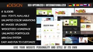 Download U-Design WordPress Theme NULLED