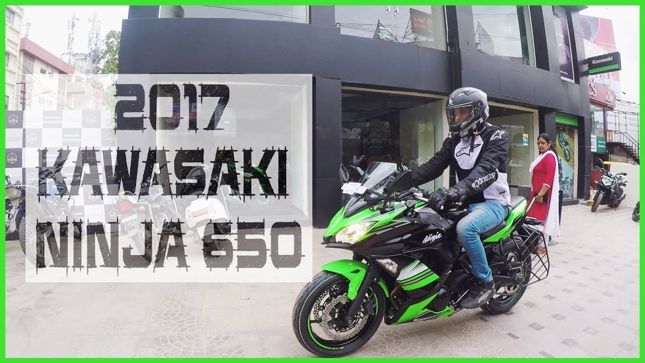 The Green Affair My 2017 Kawasaki Ninja 650 Youtube