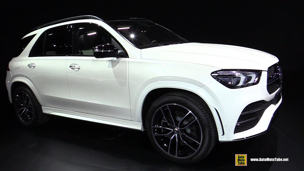 2020 Mercedes Gle 450 4matic Exterior And Interior Walkaround Debut At 2018 Paris Motor Show