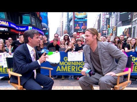Brad Pitt Interview 2013: Angelina Jolie 'Business As Usual' Following Mastectomy