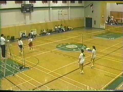 1993 Provincials - Shelley Wilson & Lynn Scott vs. Janet Crabbe & Lynn Lewis
