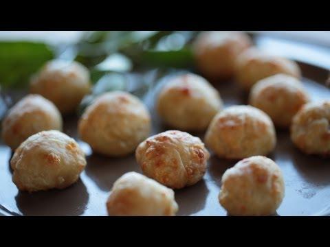 Olive Stuffed Cheese Puffs Recipe | Kin Community