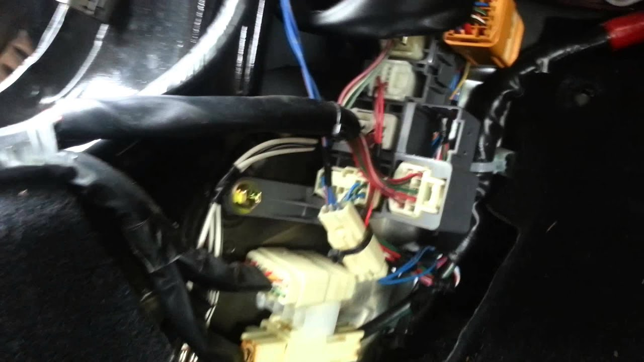 Install Speaker Wire On Mr2