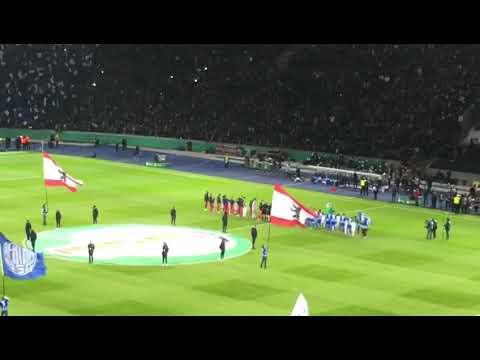 Hertha BSC Vs FC Bayern München | DFB Pokal 6.2.2019 | Teams Kommen Ins Olympiastadion LIVE