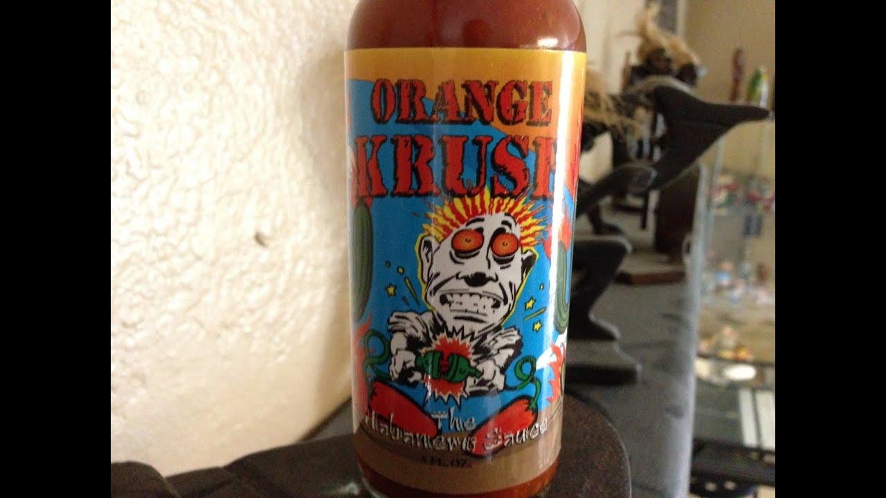 Orange Krush Habanero Hot Sauce Review