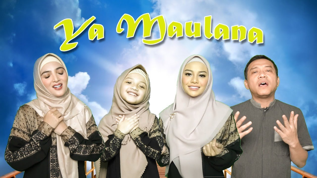YA MAULANA - SABYAN ( Cover by Keluarga ASIX )
