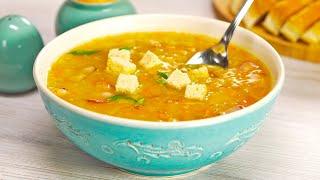Простой рецепт приготовления вкуснейшего горохового супа с беконом. Рецепт от Всегда Вкусно!