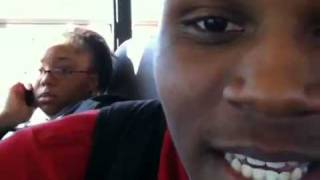 singing auto-tune on the bus