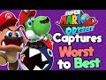 Ranking Every Capture in Super Mario Odyssey