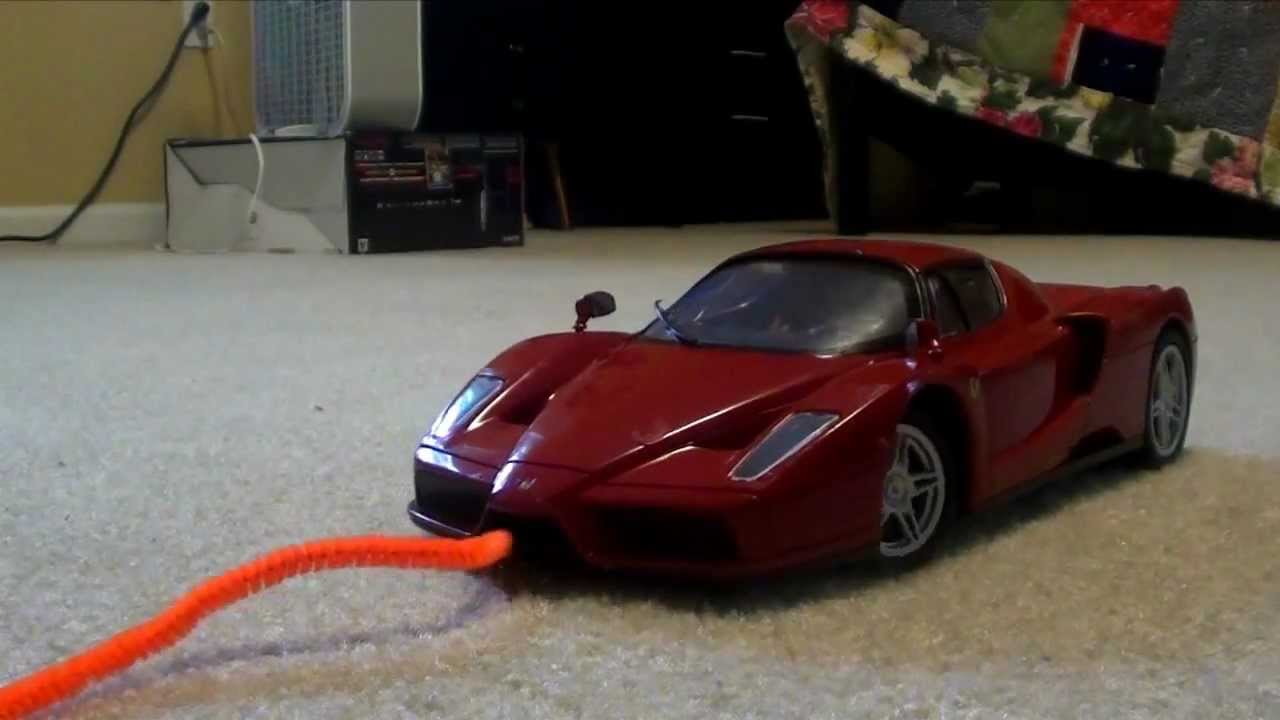 Ferrari Enzo RC Car Chase Film The Bads Roberty