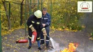 видео Классификация пожаров и выбор огнетушителя