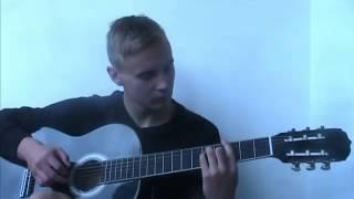 Баста - Выпускной (Медлячок)Кавер под гитару  Ваня Климович