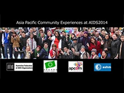 SCDI staff participated in Asia Pacific Community Experiences at AIDS 2014 - AFAO