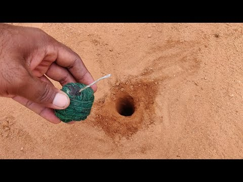 Hole vs Green Atom Bomb Cracker | Crazy Cracker Experiment | Diwali | Mr Science