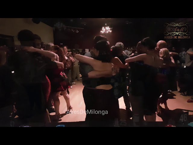 The first dance floor. 24.5. 2019, Loca Tango Marathon . Boston, USA