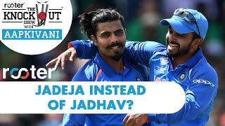 JADEJA instead of JADHAV? 'Rooter' presents THE KNOCKOUT SHOW with #AapKiVani