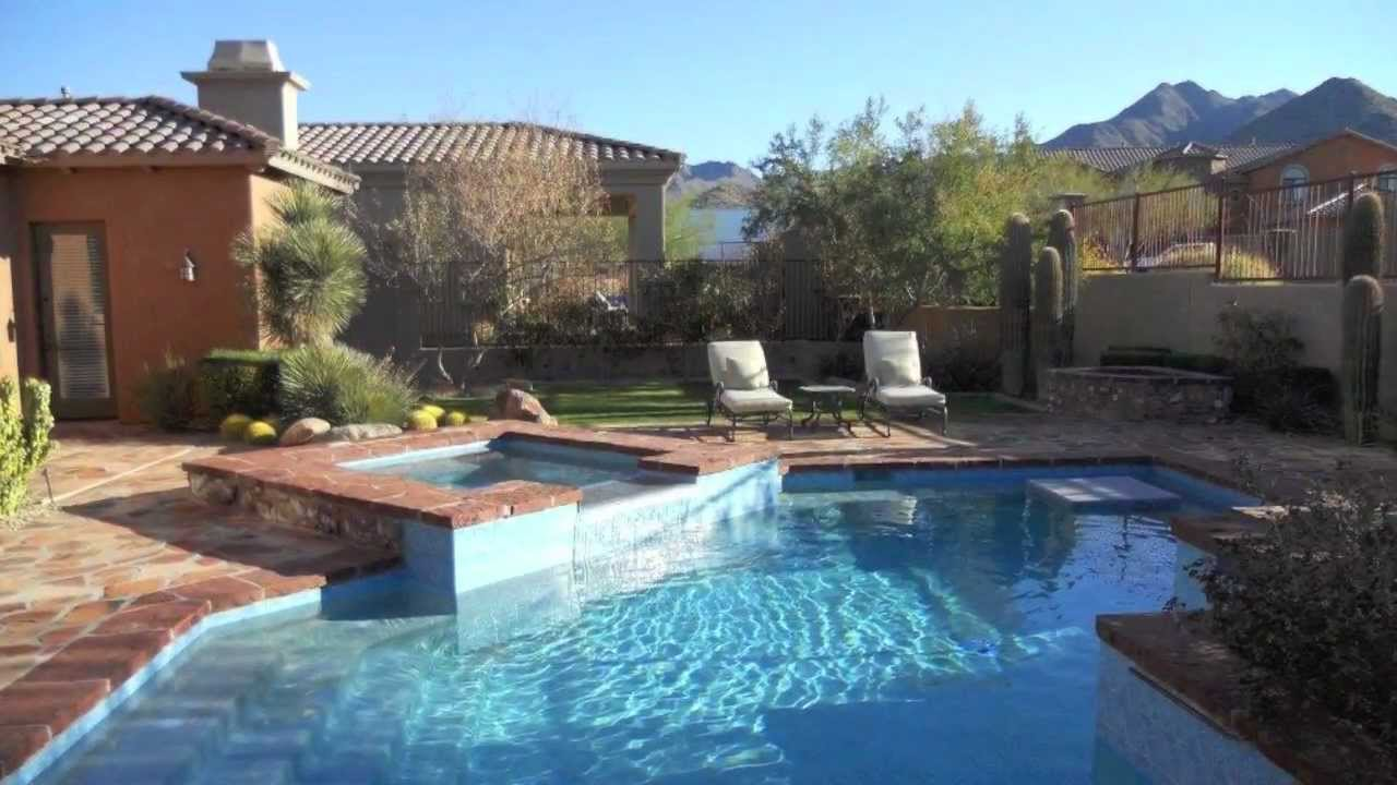 Arizona pool companies aquavida pools az youtube for Pool vendors