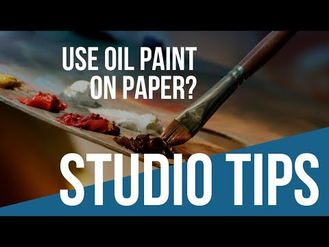 Oil Paint On Paper? Learn How To Use Oil Paint On Paper
