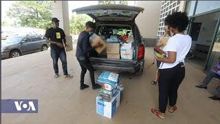 Sierra Leonean TV Host Starts COVID-19 Fundraiser