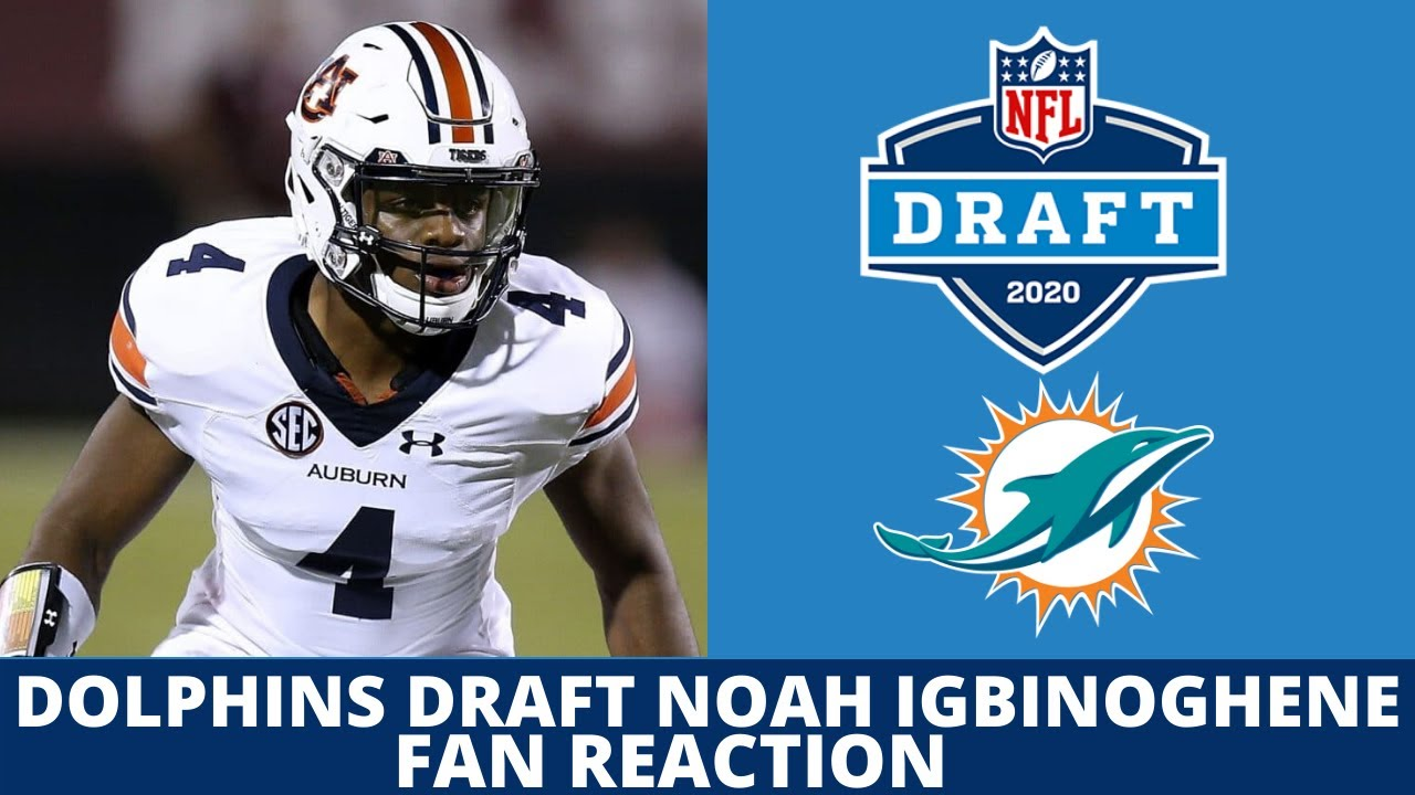 Twitter reacts to Miami Dolphins selecting Noah Igbinoghene