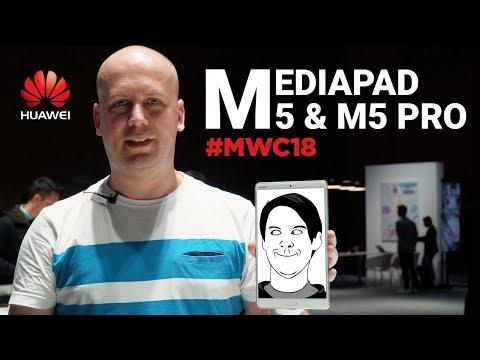 Huawei MediaPad M5 и M5 Pro: самые продвинутые Android-планшеты
