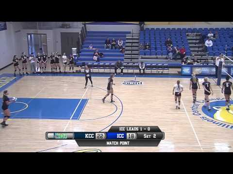 ICC Volleyball VS Kirkwood Community College