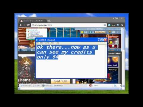 How To Hack GaiaOnline(WORKING) !!