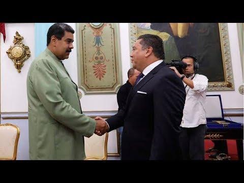 Javier Bertucci se reúne con el Presidente Maduro en el Palacio de Miraflores