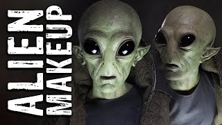 Martian Alien Makeup Tutorial