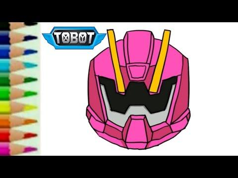 Tobot W Toys Car Robot Transformers Belajar Menggambar Dan