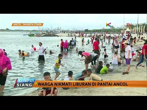 Pantai Ancol Jadi Destinasi Wisata Warga Jakarta