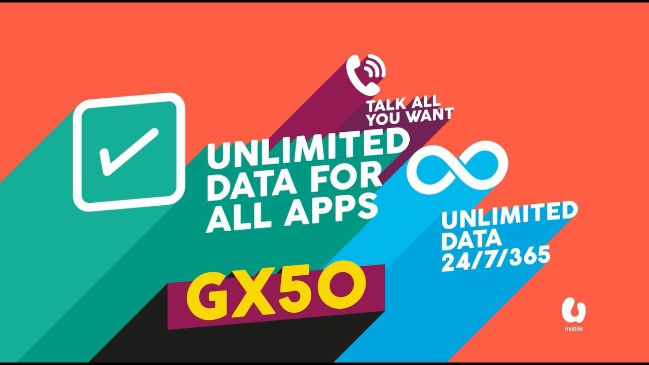 Giler Unlimited GX50 Postpaid