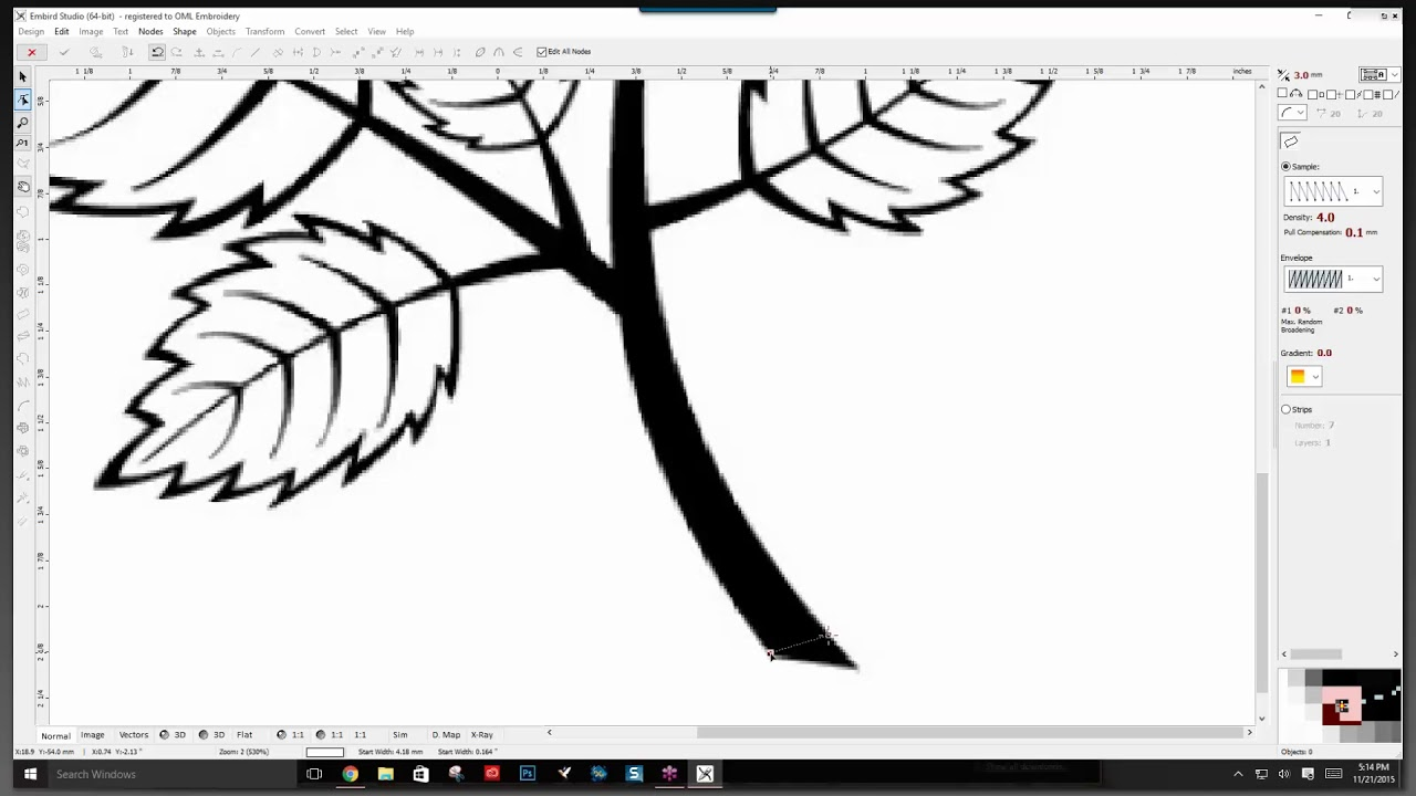 Embird studio tutorials: learn embird digitizing step by step.