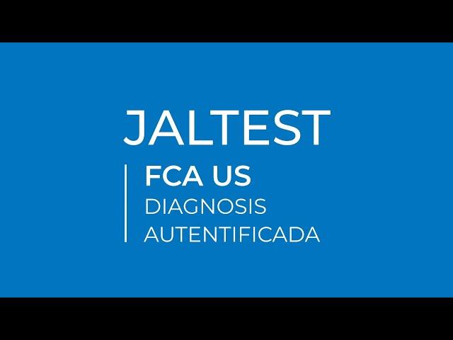 JALTEST | FCA US Diagnosis autentificada