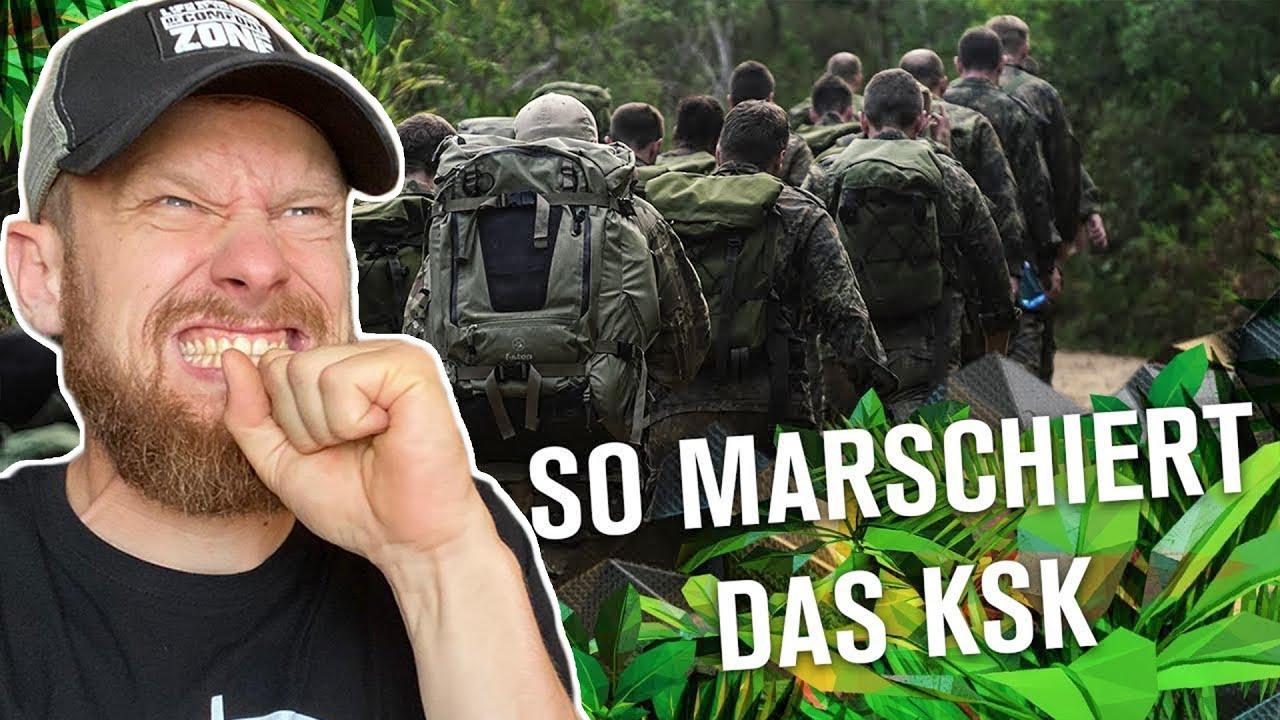 Fritz Meinecke reagiert auf ersten MARSCH des KSK im DSCHUNGEL | KSK Ausbildung der Bundeswehr
