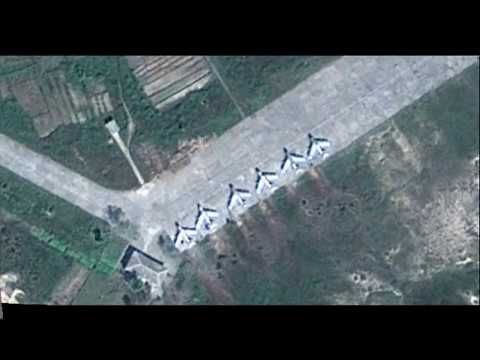Secret North Korea Air Bases
